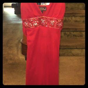 Gorgeous Red Flowy Dress